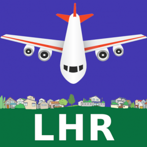 FLIGHTS for LHR Airport London Heathrow Icon
