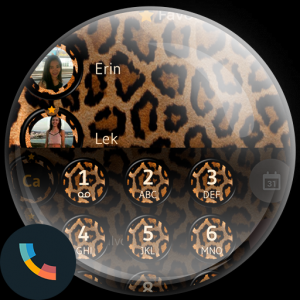 Leopard Contacts Dialer Theme Icon