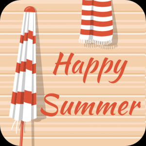 Happy Summer Font for FlipFont , Cool Fonts Text Icon
