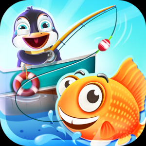 Fishing Games For Kids - Hgamey Learning Game Icon