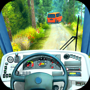Offroad Bus Driving Simulator 2019: Mountain Bus Icon