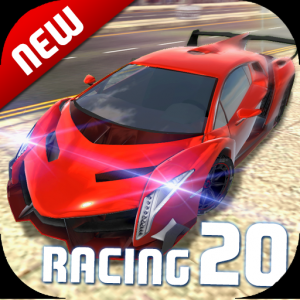 Extreme Car Driving Simulator 2020: The cars game Icon
