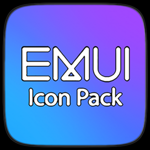 Emui Carbon - Icon Pack Icon