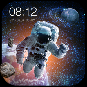 Space Style Live Wallpaper Free Icon