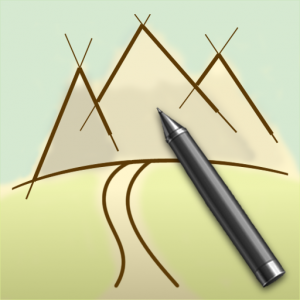 TouchTrails - Route Planner, GPX Viewer/Editor Icon