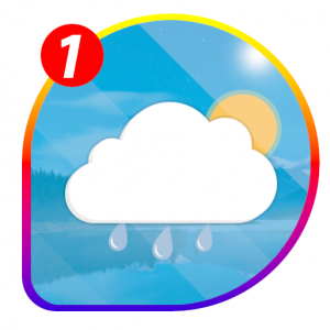 Weather and Radar Live Forecast Icon