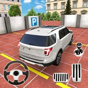 Auto Car Parking Game – 3D Modern Car Games 2019 Icon