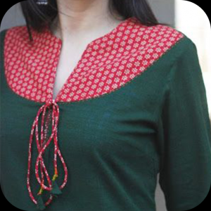 Kurti Neck Design Icon