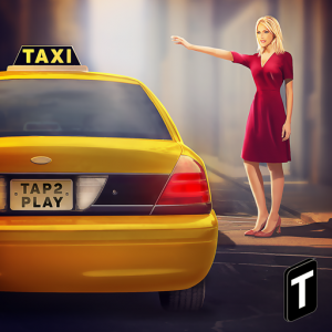 HQ Taxi Driving 3D Icon