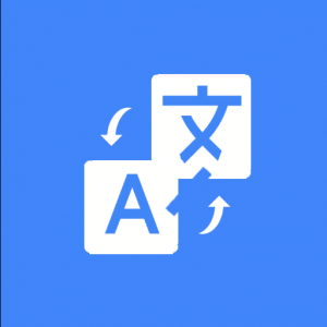 Translator for text, web pages & photos. 100% free Icon