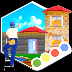 Create Home - Exterior Design and Color Selection Icon