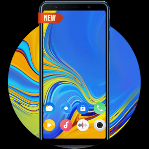 Launcher For Galaxy A7 pro Icon