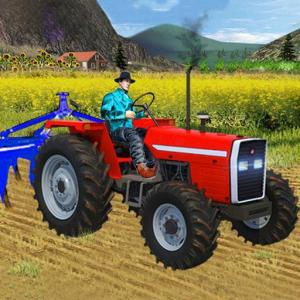 Heavy Duty Tractor Drive 3d: Real Farming Games Icon