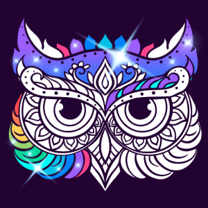 Best Coloring pages For Adults Icon