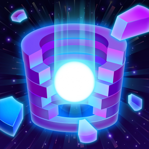 Dancing Helix: Colorful Twister Icon