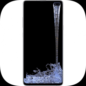 Amazing Water Live Wallpaper - s10 s10+ Note 10 Icon