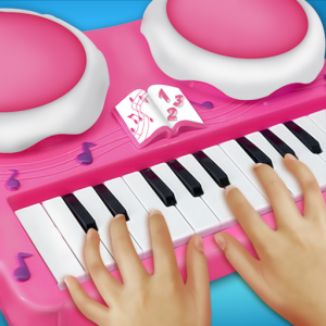 Real Pink Piano For Girls - Piano Simulator Icon
