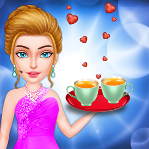 Kitchen Love Story - Restaurant Waitress Love Game Icon