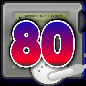 Music of the 80´S. Music and radio stations 80´S. Icon