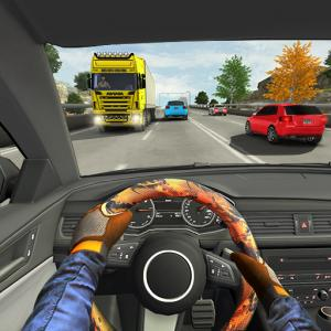 Highway Driving Car Racing Game : Car Games 2020 Icon