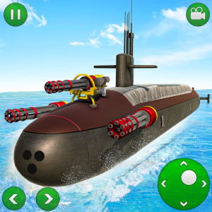 US Army Submarine Driving: Criminal Transport Game Icon