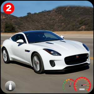 F-Type: Extreme Real City Car Stunts Drive & Drift Icon