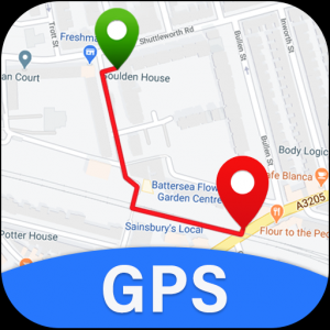GPS Maps, Voice Navigation & Subway Map Directions Icon