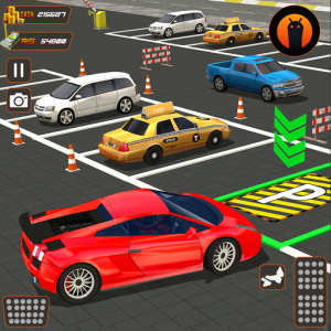 Real Driving Car Parking: US Car Driving School Icon