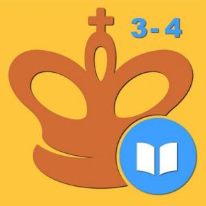Mate in 3-4 (Chess Puzzles) Icon