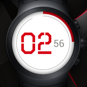 Flat Watch Face & Clock Live Wallpaper Icon