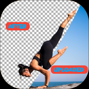 Image Bckground remove only 1 click, only 5 second Icon