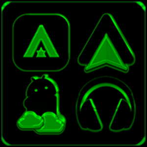 Black and Green Icon Pack ✨Free✨ Icon