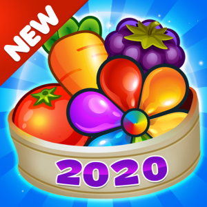 Garden Blast New 2020! Match 3 in a Row Games Free Icon