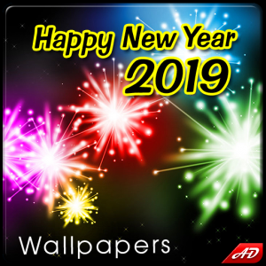 New Year Wallpapers 2019 Icon