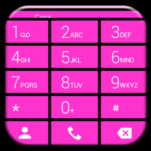 Dialer Cards Pink Theme for Drupe and ExDialer Icon