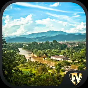 Laos Travel & Explore, Offline Country Guide Icon