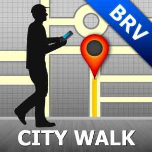 Brasov Map and Walks Icon