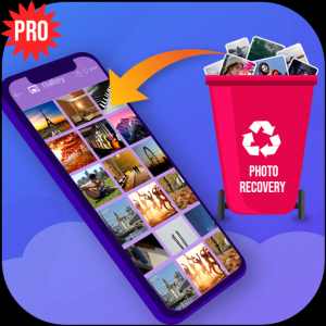 Deleted photo recovery - restore images Icon