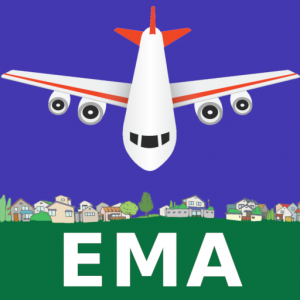 East Midlands Airport: Flight Information Icon