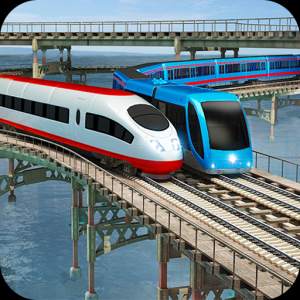 Train Driving Express: Simulator 3D,Level Game Icon