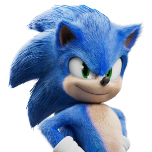Official Sonic Movie Stickers for Gboard Icon