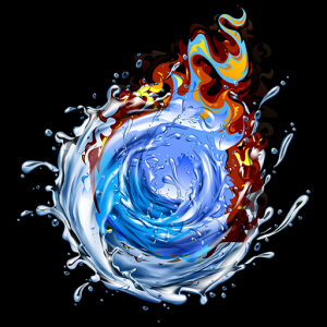 Water Ball Fire Surfer: 3D 2019 Icon