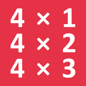 Multiplication Table Game Icon