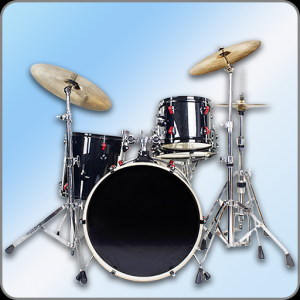 Easy Real Drums-Real Rock and jazz Drum music game Icon