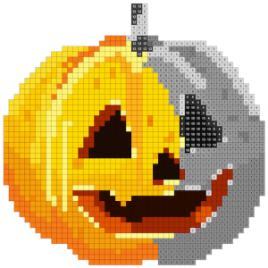 Halloween Pixel Art:Paint by Number, Coloring Book Icon