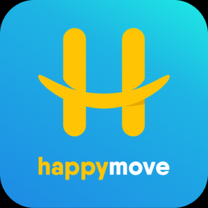 Happy Move: On-demand Delivery From Smile To Smile Icon