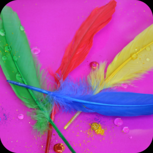 Feather Full HD Wallpaper Icon