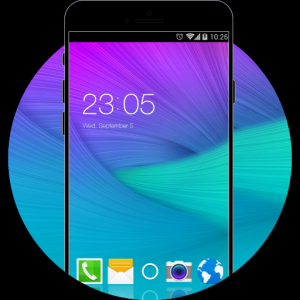 Theme for Samsung Galaxy Note 4 HD Icon
