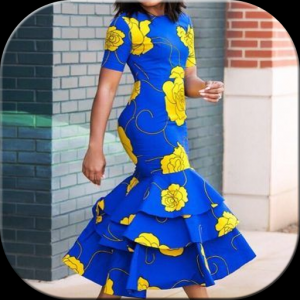 African Dresses Icon