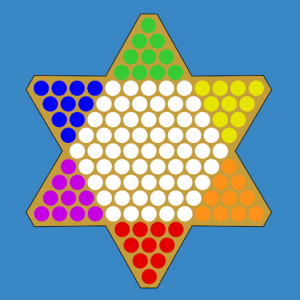 Chinese Checkers Touch Icon